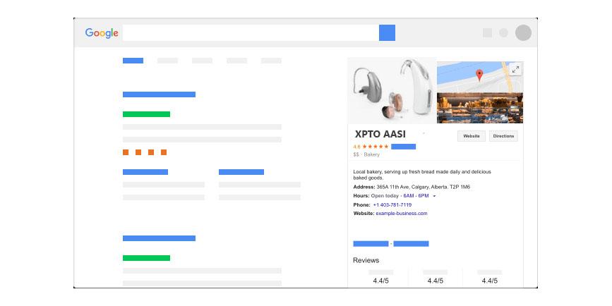 Google Meu Negocio Aparelho Auditivo
